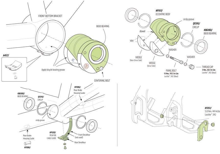 Cannondale Road Tandem 2014 Parts List And Exploded