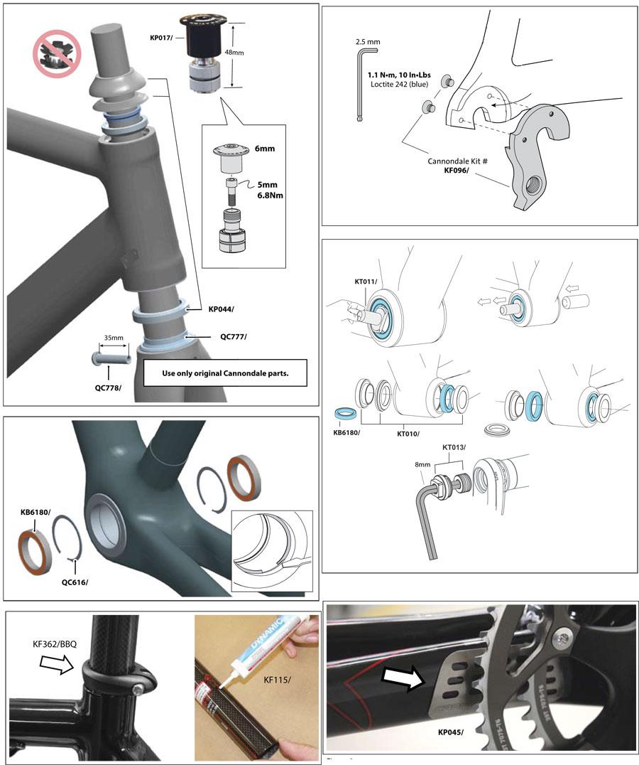 Supersix (2008-2009) Parts