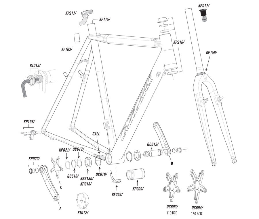 superx 2011 2012 cannondale superx (2011 2012) parts list and exploded diagram