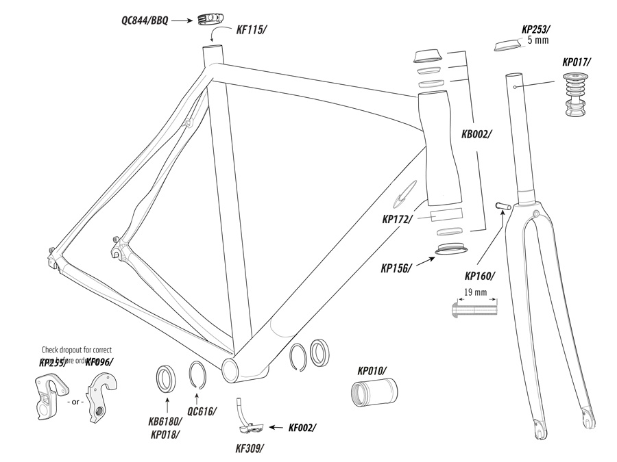Synapse Alloy Parts